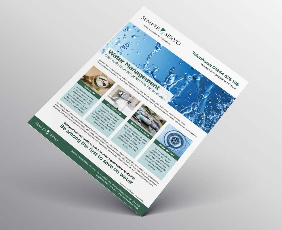 Brochure Design Cheshire