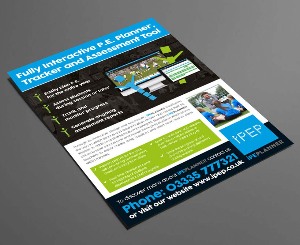 Leaflet Design Chester